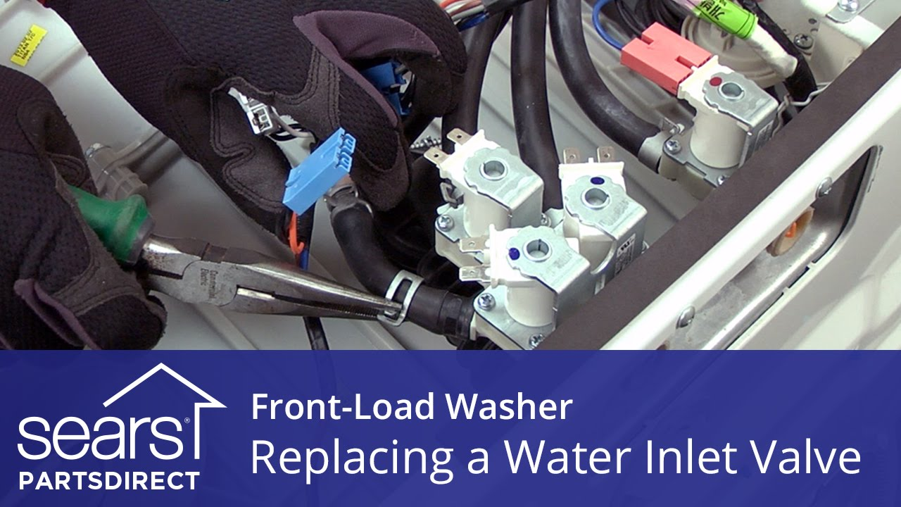 Replacing The Water Inlet Valve On A Front Load Washer