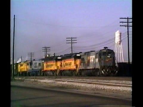 Railfan Tape 7 - December 5, 1989 to January 26, 1990
