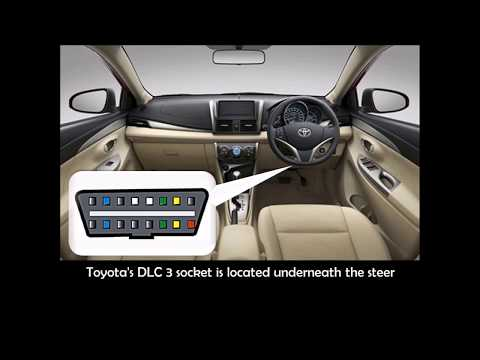 How To Read and Erase Toyota Diagnostic Trouble Code Manually Without Scantool
