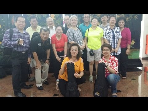 BVM Ukulele Group's Visit to Lentor Residence - 15th Aug 2015