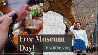 Free Museum Day at the Seattle Art Museum & My Delicious Chirashi Dinner!
