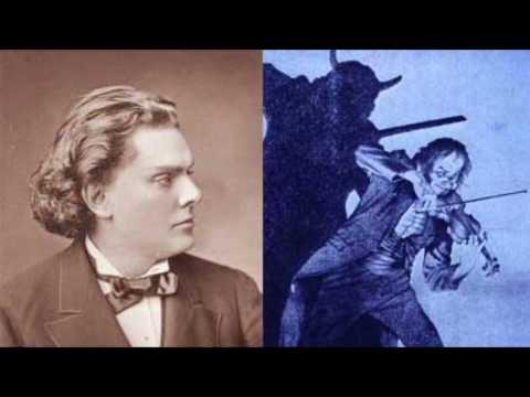 August Wilhelmj - Le Streghe, op.8 by N.Paganini