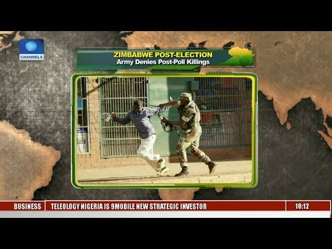 Army Denies Zimbabwe Post Election Killings |Network Africa|
