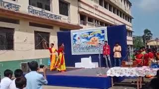 Agomoni dance... Modhu Madhuri... By KBV student