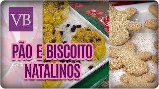 Pão Salgado e Biscoito de Gengibre Natalinos  - Você Bonita (21/12/17)