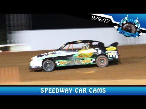 #29 Jo-Jo Morgan - Pony - 9-9-17 Fort Payne Motor Speedway - In Car Camera