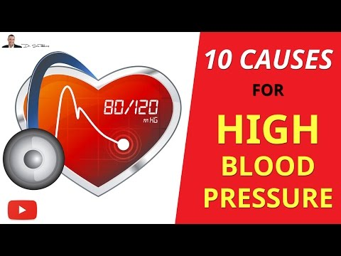 ► TOP 10 Causes Of High Blood Pressure