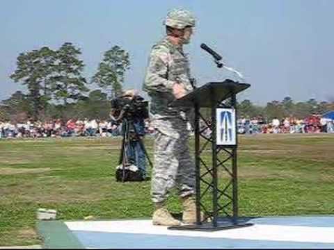 Jay W. Hood - 76th Infantry Brigade Departure Ceremony