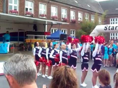 Kreis Heinsberg Bisonettes Cheerleader Show part 1 (Hückelhoven)