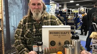 Bushcraft 101 Kit from Dave Canterbury and UCO: Mora Kansbol, Water-Proof Matches, Cook Set