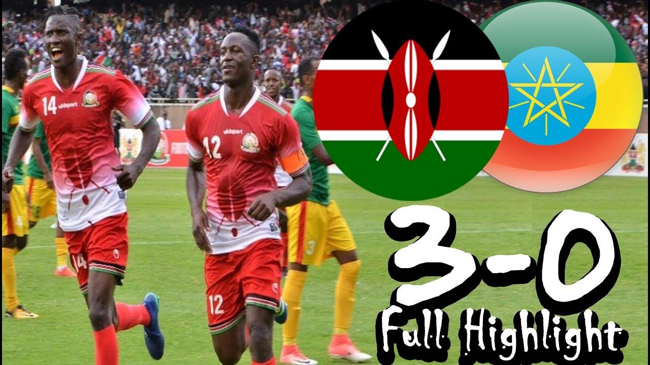 Kenya Vs Ethiopia AFCON Qalification Game @ Kasarani Stadim 2018