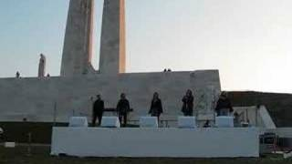 Tanglefoot at Vimy