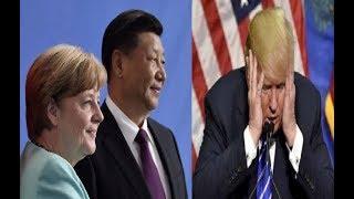 LA GRAN TRAICIÓN: Alemania se alía con China para Atacar a Estados Unidos Comercialmente.