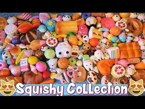 Squishy Collection! Tutti i miei Squishy :D