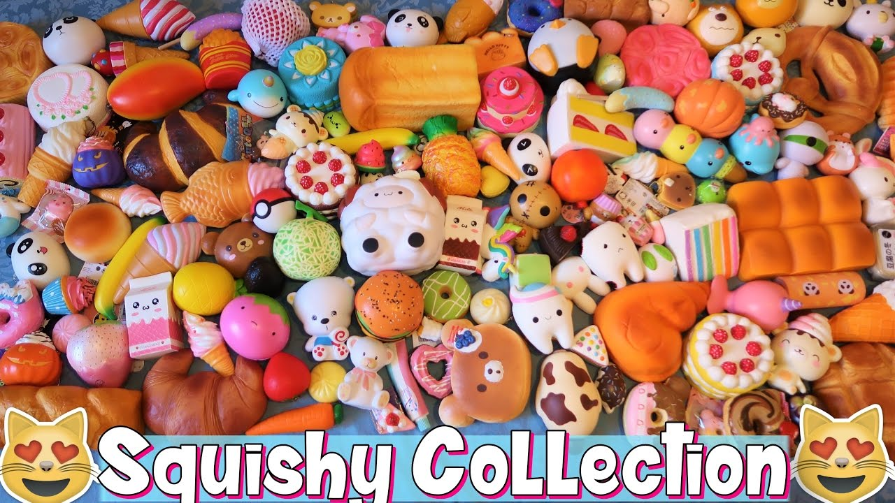 Squishy Collection : Stream Squishy Collection! Tutti i miei Squishy :D #2002 on Mucis Online