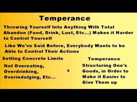 What is Temperance?