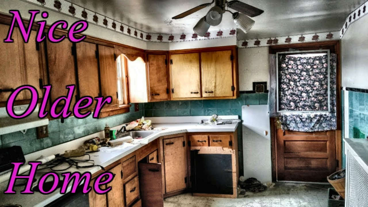 Abandoned House With A Nice Older Kitchen