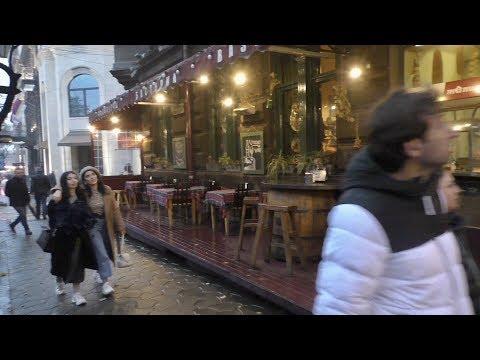 Ереван, 01.12.19, Su, Дождь, по ул.Абовяна, Video-1.