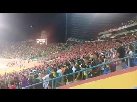 Terbaikk Sorakan Semangat 80 Ribu Peminat Bola Sepak MALAYSIA Selepas Menewaskan Pasukan INDONESIA!!