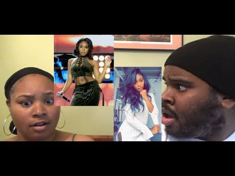 Normani Kordei - Don't Touch My Hair x Cranes In The Sky - REACTION