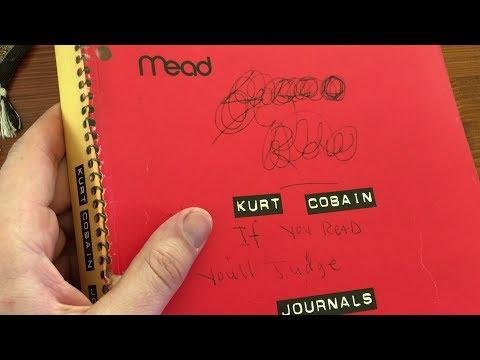 NIRVANA - ASMR - Kurt Cobain Journals