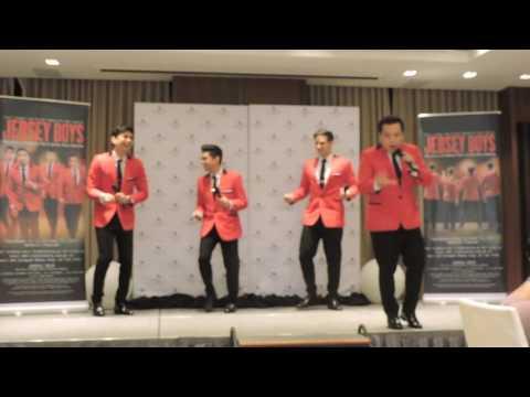Jersey Boys Manila Press Conference
