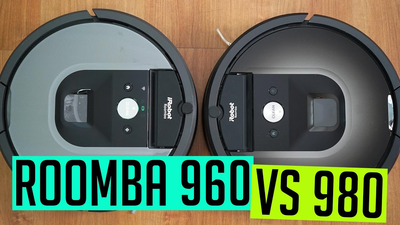 Roomba 960 vs 980 Comparison & Test Results [Which Mid-Priced Roomba is Better?]