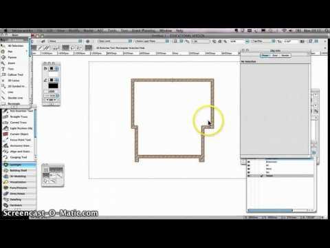 Vectorworks Spotlight Tutorial 004 - Theatre Drawing