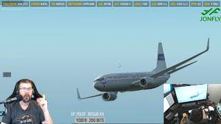 X-Plane 11 - Zibo 737 3.23T with RG Mod Part 3 of 4