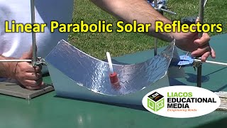 Linear Parabolic Solar Reflectors: A Practical Experiment for Students