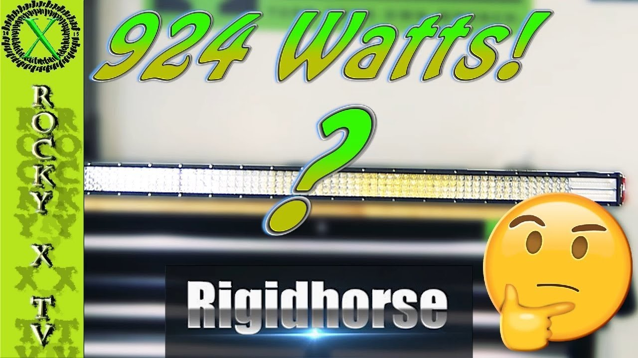 Quad Row Wiring Diagram Schematics Rigidhorse 8d Led Light Bar Test Review Youtube Snowmobile