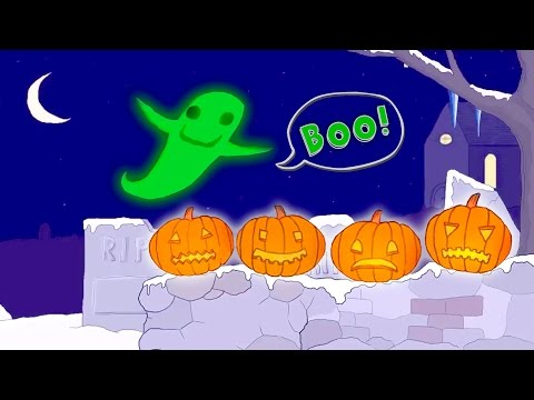 10 Spooky Pumpkins Counting Song  Classic Nursery Rhyme Singalong with Lyrics!