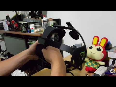 How to properly take off and install facial interface Oculus Rift