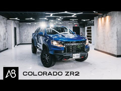 2021 Chevrolet Colorado ZR2 Review | It's what's on the Outside that Counts