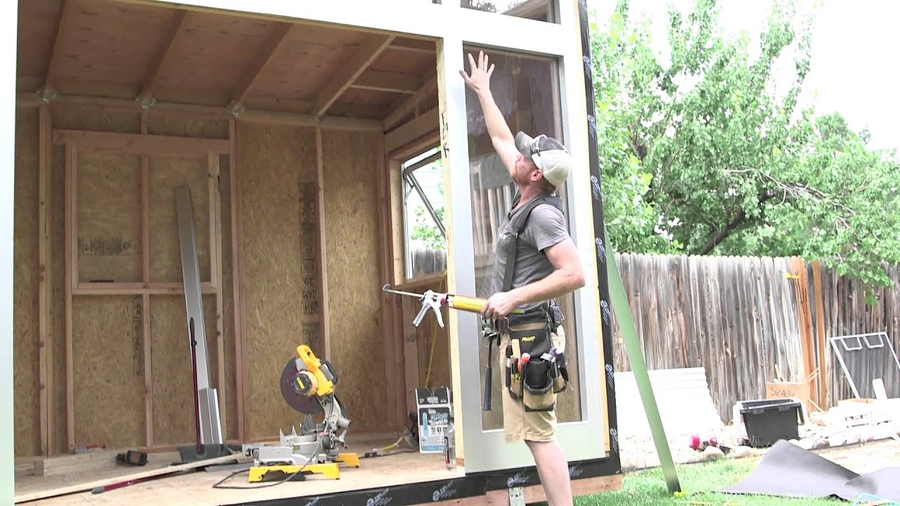 Studio Shed Do It Yourself (DIY) Backyard Sheds - YouTube