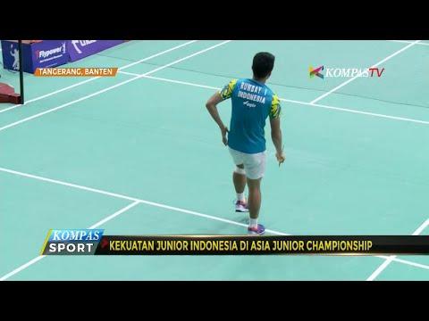 Kekuatan Junior Indonesia di Asia Junior Championship