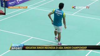 Kekuatan Junior Indonesia di Asia Junior Championship thumbnail