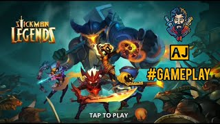 Stickman Legend : Shadow Fight - offline games DB gameplay  / AJ screenshot 5