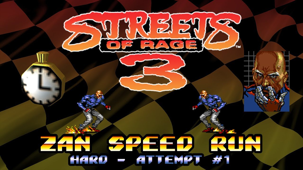 [TAS] Genesis Streets of Rage 3 by atro city in 38:12.55 ...  |Streets Of Rage 3 Zan