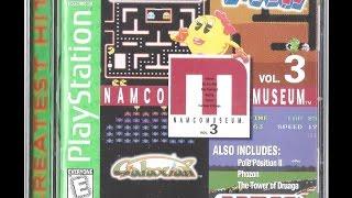 NAMCO Museum Volume 3 [PS]