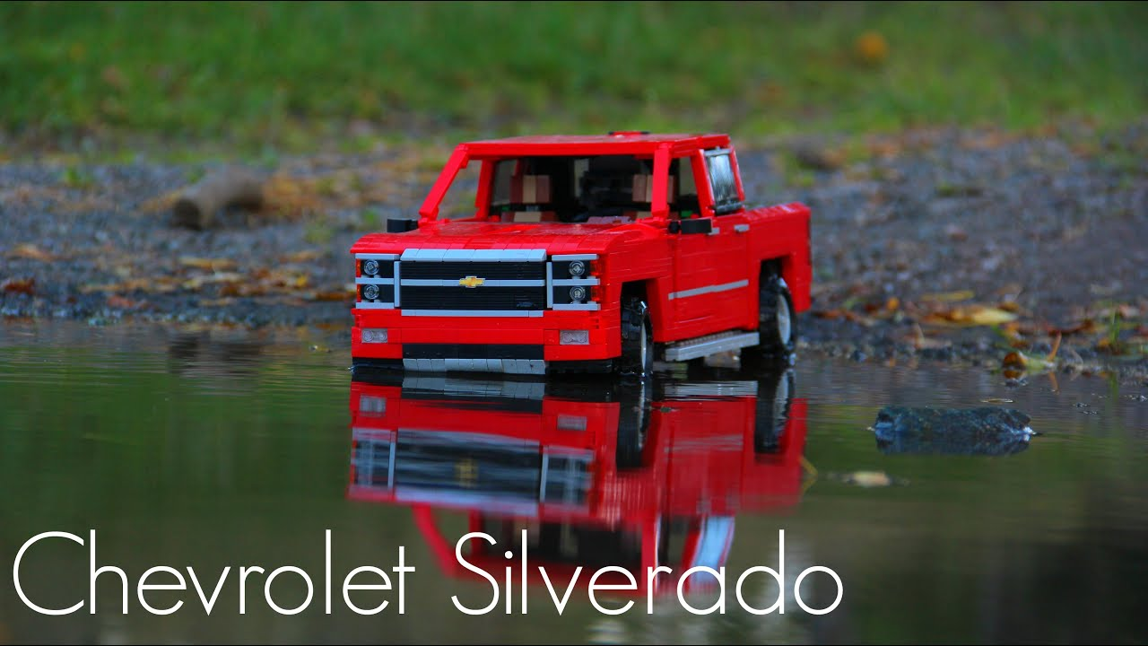 Lego RC Chevrolet Silverado - YouTube