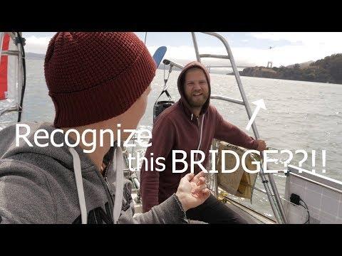 Sail under the Golden Gate Bridge!!! ep.75 - Walde Sailing (San Francisco)