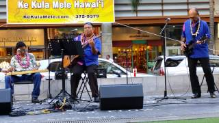 Waikiki Steel Guitar Festival - Bobby Ingano - Moana Chimes