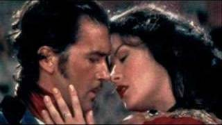 "The Mask of ZORRO  ""I want to spend my lifetime loving you"""