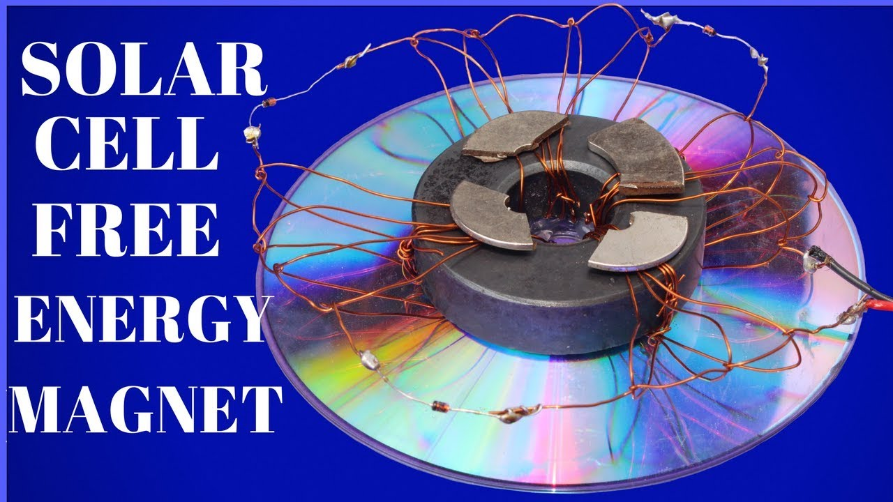 100 Free Energy For Lifetime How To Make Solar Cell