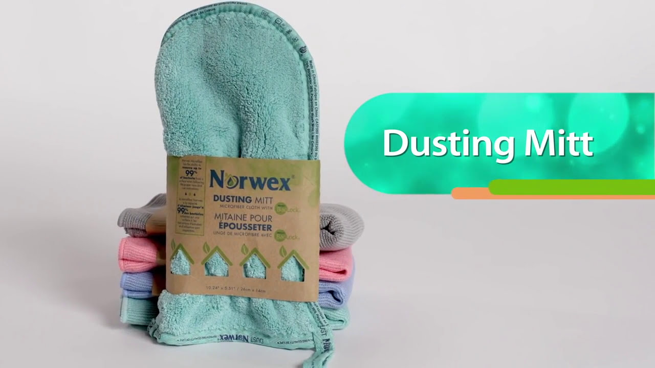 dusting furniture. Norwex Products Dusting Mitt Furniture