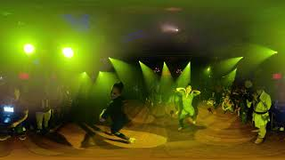 FEROCITY PRO LADIES Bachata Dance Performance  360° VR Video At THE SALSA ROOM