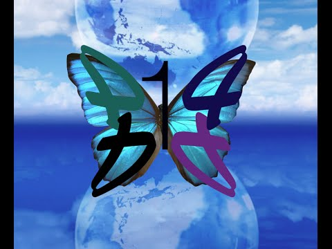 The Numbers 144 & 414 (Butterflies)