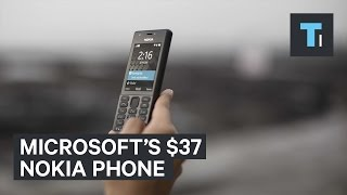 Microsoft just unveiled a $37 Nokia phone