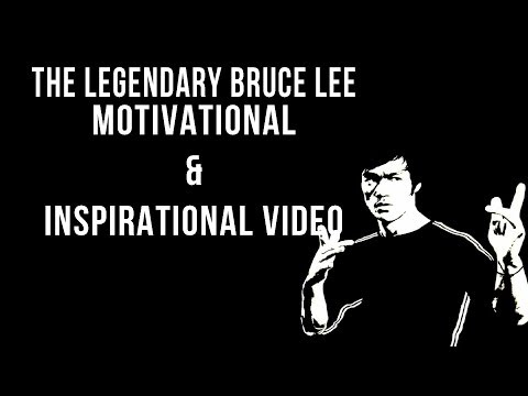 Bruce Lee - Motivational & Inspirational Video (Why do we fall?)